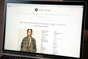 Jane Young website screen
